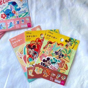 Disney Hawaii Mickey and Minnie Mouse Stickers